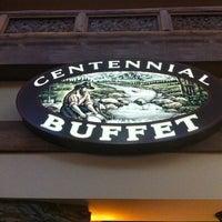 Photo taken at Centennial Buffet by Trip G. on 12/25/2012