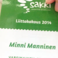 Photo taken at Kiljavanranta by Minni M. on 3/22/2014
