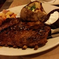 Photo taken at Montana's Cookhouse Bar & Grill by Philip K. on 10/19/2014