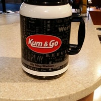 Photo taken at Kum & Go by Hershel H. on 2/13/2014