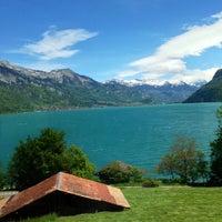 Photo taken at Harbour Interlaken Ost by Nicolas B. on 5/18/2013