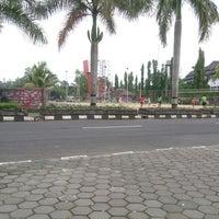 Photo taken at Taman Kota Wonosari by AB 7000 NI on 3/17/2014