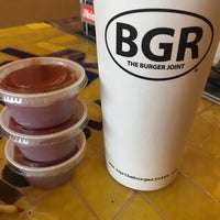 Photo taken at BGR - The Burger Joint by Nicole W. on 8/15/2016
