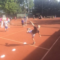 Photo taken at Zuilense Tennis Club by Rick L. on 10/1/2014