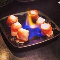 Photo taken at Mori Sushi by Danielle K. on 5/9/2013