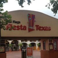 Photo taken at Six Flags Fiesta Texas by Joshua M. on 7/30/2013