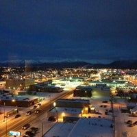 Photo taken at Sheraton Anchorage Hotel & Spa by Jacob H. on 1/22/2013