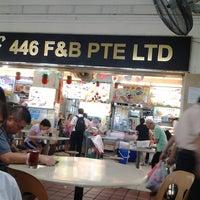 Photo taken at 446 Pasir Ris F&B Coffeeshop by Jasminee L. on 7/15/2014