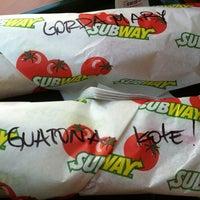 Photo taken at Subway by Kote on 10/12/2012