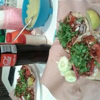 """Photo taken at tacos """"la chimirikukis"""" by Wera U. on 3/21/2014"""