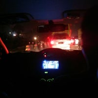 Photo taken at Jalan Tol Tangerang - Merak by Elita A. on 3/8/2014