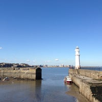 Photo taken at Newhaven Harbour by Ewan M. on 4/30/2013