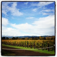 Photo taken at Opus One Winery by Andre O. on 11/9/2012