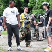 Photo taken at Gateway Paintball Park by Greg S. on 6/25/2014