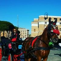 Photo taken at Hotel Cosmopolita Rome by Serpil A. on 11/25/2015