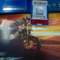 Photo taken at Yamaha Indonesia Motor Manufacturing by adan a. on 8/28/2013