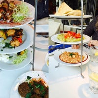Photo taken at The Real Greek by Dileep K. on 7/5/2015