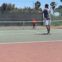 Photo taken at Marina Vista Tennis Courts by Hannah D. on 7/4/2016