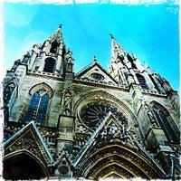 Photo taken at Basilique Sainte-Clotilde by Didier L. on 9/29/2012