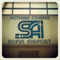 Photo taken at Sofia Airport (SOF) by Tsvetan T. on 11/3/2012