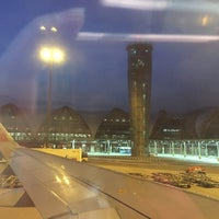 Photo taken at Gate B2 by Pinky on 10/17/2015