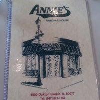 Photo taken at Annie's Pancake House by Jojo E. on 8/4/2014