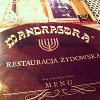 Photo taken at Mandragora by Jaroslaw M. on 12/20/2012
