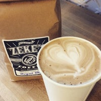 Photo taken at Zeke's Coffee (retail) by Jessica L. on 4/20/2015