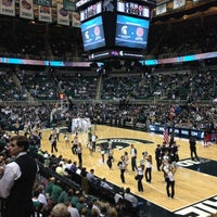 Photo taken at Breslin Center by Ashley M. on 11/25/2012