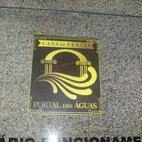 Photo taken at Salão de Festas Portal das Águas by Rafael V. on 6/25/2016