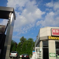 Photo taken at Lasalle Auto Esso Gas Station by Kevan D. on 8/26/2014