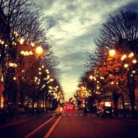 Photo taken at Avenue Montaigne by Pierre L. on 11/24/2012