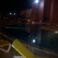 Photo taken at Hotal riad Mogador agdal by Majdouline M. on 4/11/2014