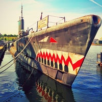 Photo taken at Historic Ships in Baltimore by Gerson on 5/20/2014