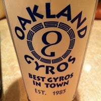 Photo taken at Oakland Gyros by Sebastián L. on 2/10/2013