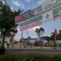 Photo taken at Pendopo Pringsewu by Darminto on 6/23/2013