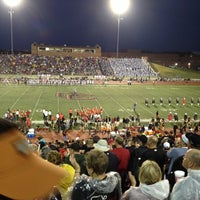 Photo taken at Buddy Echols Field by Scott S. on 9/29/2012