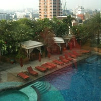 Photo taken at Ascott Sathorn Bangkok by Beerzilla P. on 2/1/2013