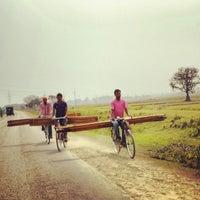 Photo taken at Biratnagar by Tayfun S. on 4/23/2014