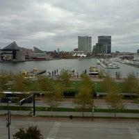 Photo taken at Royal Sonesta Harbor Court Baltimore by Rafael R. on 11/3/2012