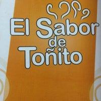 Photo taken at Sandwicheria El sabor de Toñito by Paulo C. on 4/20/2013