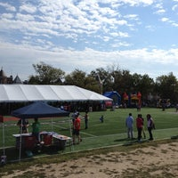 Photo taken at Tubman Elementary School Soccer Field by Kial S. on 10/6/2012