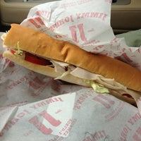 Photo taken at Jimmy John's by Chris B. on 2/12/2013
