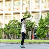 Photo taken at Gedung Pusat UGM by Tifa P. on 2/27/2016
