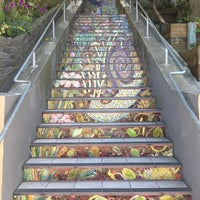 Photo taken at Hidden Garden Mosaic Steps by Arielle A. on 7/24/2016