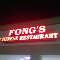 Photo taken at Fong's Chinese Restaurant by Jon O. on 11/21/2012