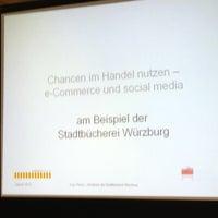 Photo taken at Stadtbücherei by Gunther S. on 1/22/2013