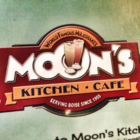 Photo taken at Moon's Kitchen Cafe by Ron B. on 11/26/2013