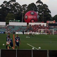 Photo taken at Pirtek Stadium by Mark W. on 11/24/2012