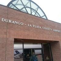 Photo taken at Durango - La Plata County Airport (DRO) by Jonathan Z. on 12/27/2012